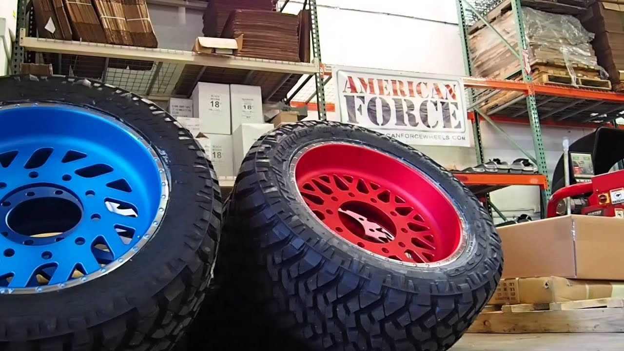American Force Wheels 2014 Dodge Ram 3500 LONGHORN dually ...