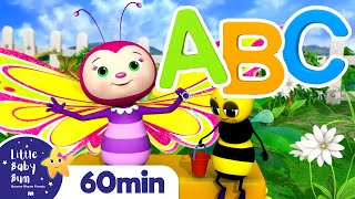 ABC Butterfly Song +More Nursery Rhymes and Kids Songs | Little Baby Bum