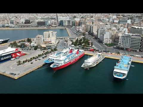 The port of piraeus 2021