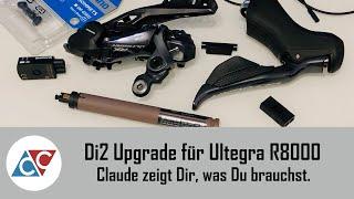 Di2 Upgrade für Shimano Ultegra R8000