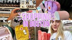 Shopping in Boston!!