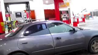 Ацетон в бензобак Тойота  Toyota 4A-GE silver top