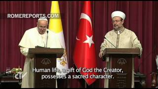 Pope to Muslim leaders: We must condemn violence based on religious justification