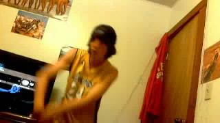 Nick singing Cold By crossfade