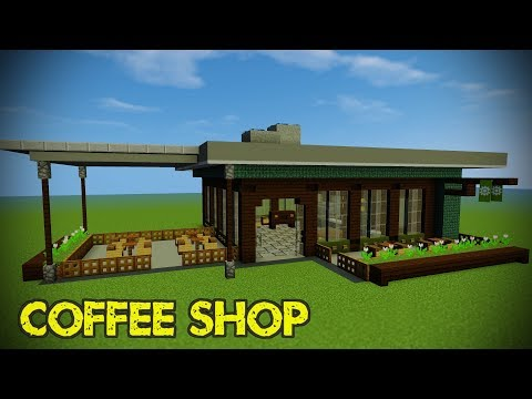 Minecraft Modern Shop Tutorial