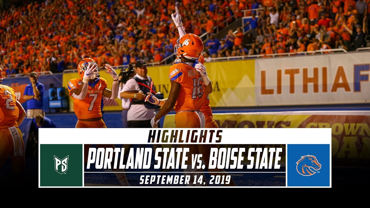 College football: No. 20 Boise State uses big second half to beat Air Force