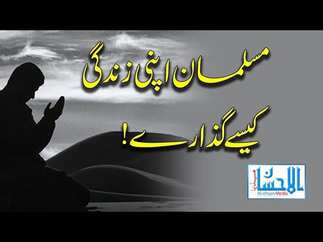 Musalman Apni Zindagi Kaise Guzare By Maulana Ziyaurrahman Alimi