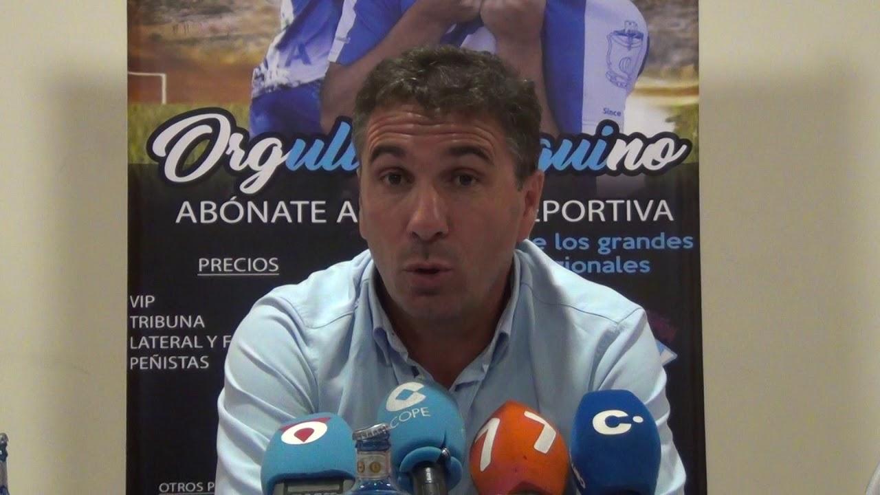 PEDRO CORDERO PLANTILLA Y COMIENZO TEMPORADA - YouTube