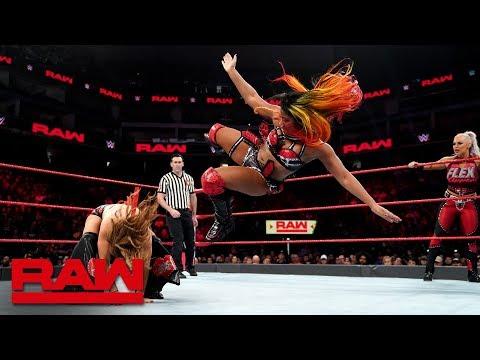 Sasha Banks, Bayley & Ember Moon vs. Mickie James, Alicia Fox & Dana Brooke: Raw, Dec. 24, 2018