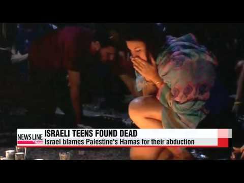 Israelis mourn the kidnap, murder of 3 teenagers