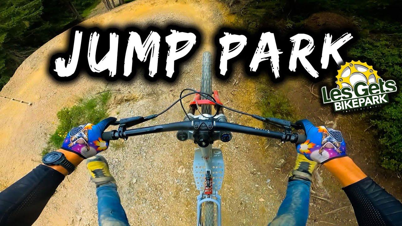 La Jump Park des Gets Bikepark en 2021 ! ( et en trottinette tout terrain !)