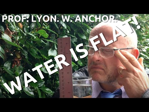 Proof the Earth is flat!.... Experiment 2.... Water.... Prof Lyon W Anchor. thumbnail
