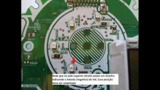 Tutorial troca de led painel CB300R - Por Auryson.VOB