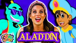 Aladdin and the Magic Lamp FULL STORY | Story Time with Ms. Booksy