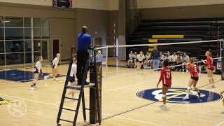 Girls Volleyball State Finals - Freedom Christian Academy @ Gaston Day