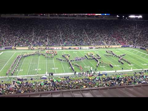 Notre Dame Band of the Fighting Irish - Halftime Show (vs. Stanford, 09.29.18)
