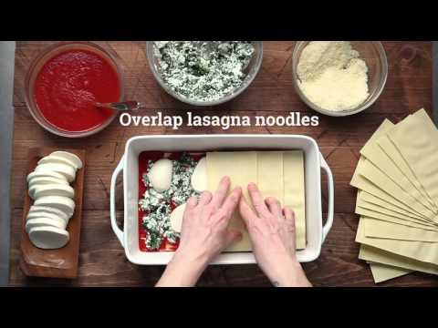 Quick And Easy Spinach Lasagna Recipe