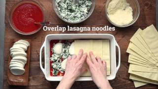 Quick and Easy Spinach Lasagna Recipe