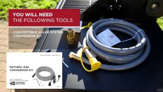 CONVERTIBLE VALVE SYSTEM™: How to Convert your BBQ to Natural Gas