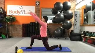 Classic Pilates mat class with progressions for all levels