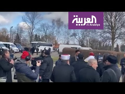 وفد من علماء المسلمين برئاسة أمين رابطة العالم الإسلامي يزور موقع الهولوكست  - نشر قبل 39 دقيقة