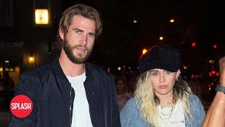 connectYoutube - Report: Miley Cyrus and Liam Hemsworth are Married   Daily Celebrity News   Splash TV