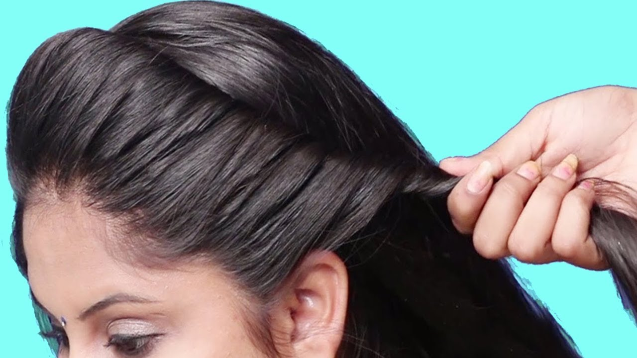 Very Easy New Party Hairstyle For Girls Hair Style Girl Trending Hairstyles Judahairstyles Youtube