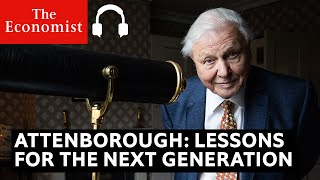 David Attenborough talks about his new Netflix film | The Economist Podcast