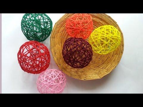 Create Decorative Yarn Balls - DIY Home - Guidecentral