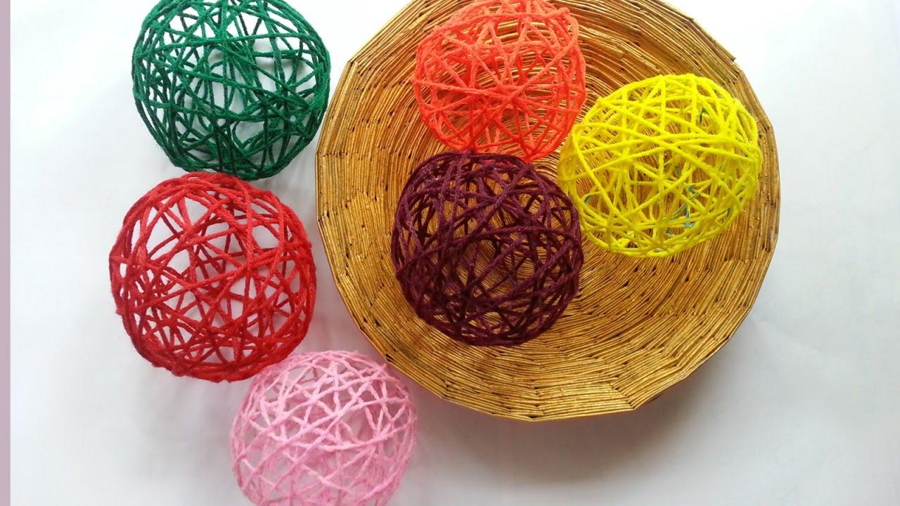 Create Decorative Yarn Balls - DIY Home - Guidecentral ...