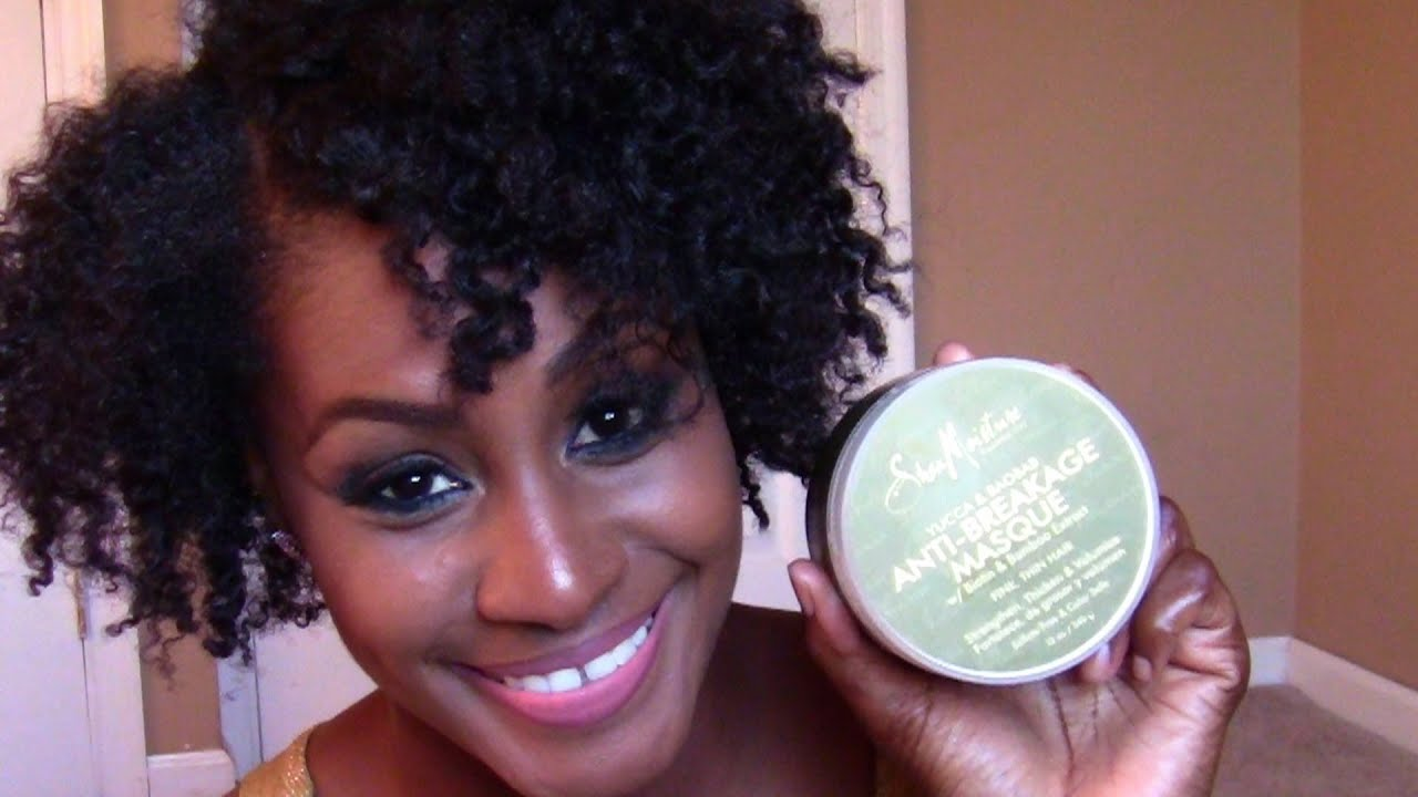 The Best Deep Conditioner for MY Natural Thin Hair!!!!! - YouTube