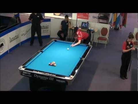 Final European Junior Championship 10 Ball 2012