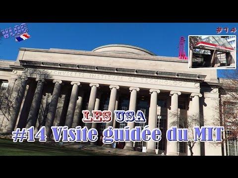 Visite guidée du MIT - Les USA - #14