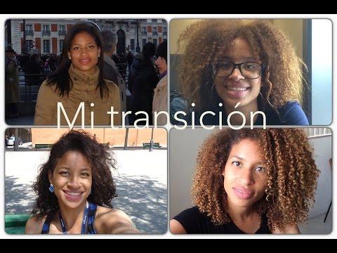 Mis 3 años de transición a cabello rizado en fotos.