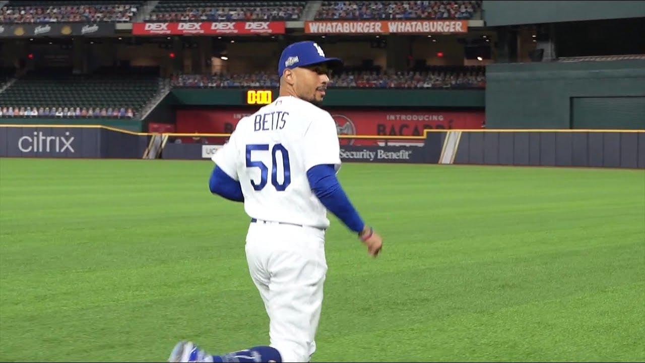 Running on the field with ALL teams in the 2020 ALDS/NLDS! (MLB Postseason)