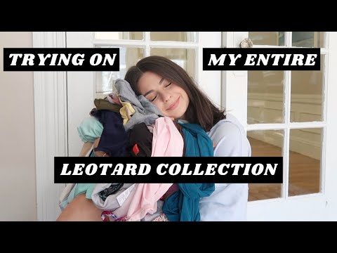 My Ballet Leotard Collection Try On
