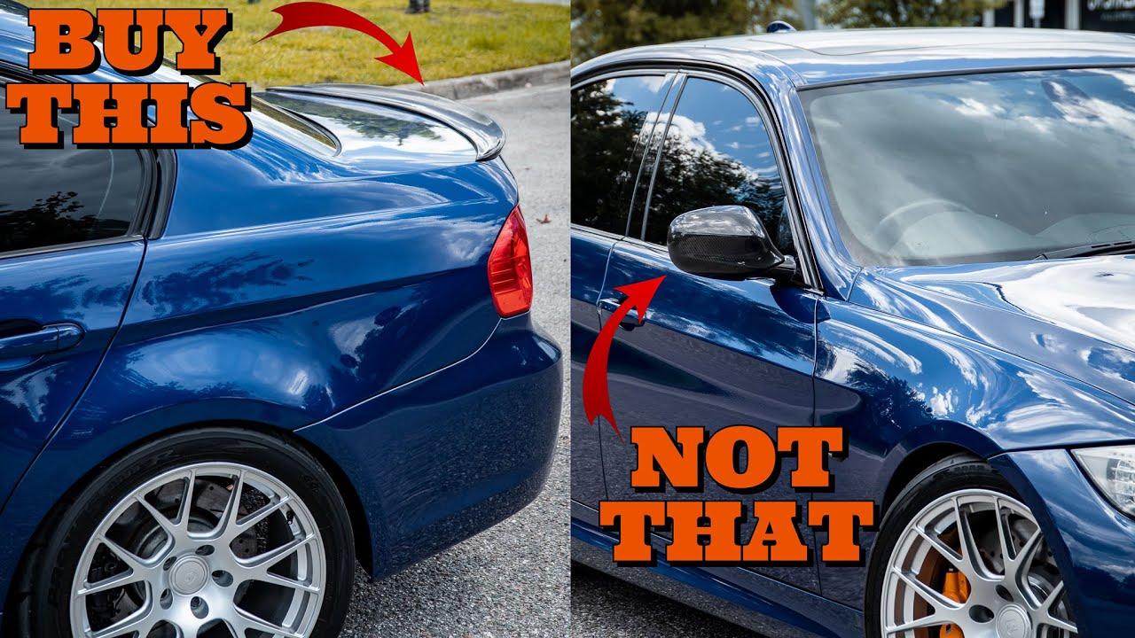 Don't Buy Cheap Carbon Fiber Parts For Your BMW Unless.... (E90 335i)