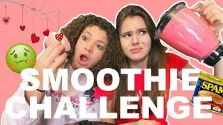 SMOOTHIE CHALLENGE - VIES VS LEKKER - VALENTIJNSEDITIE - WITH SUBTITLES