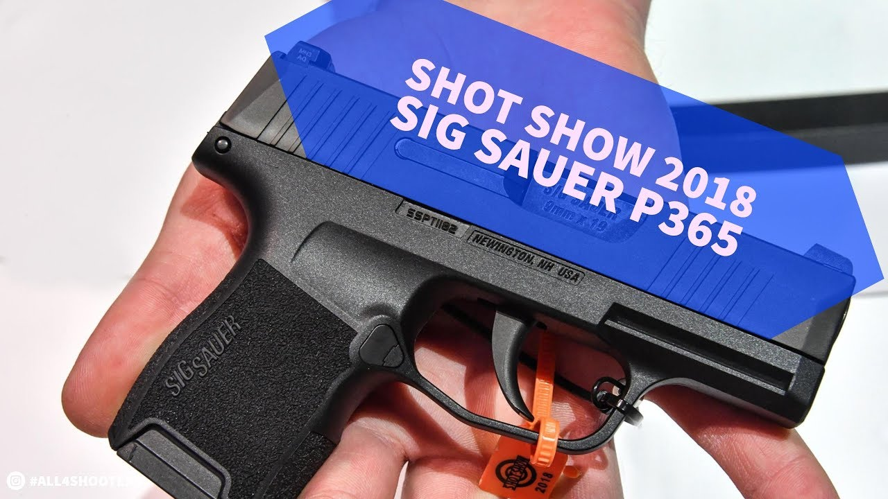 SIG Sauer introduces the P365 Nitron Micro-Compact pistol
