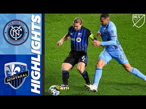 New York City Montreal Impact Goals And Highlights