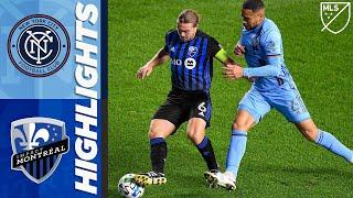 New York City FC vs. Montreal Impact | MLS Highlights | October 24, 2020