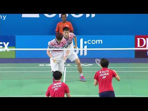 BWF World Junior Mixed Team Championships 2017 | Badminton SF-Japan vs China