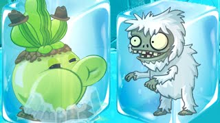 Plants vs. Zombies 2 -  Day 13, Break the Ice! (Frostbite Caves Part 1).