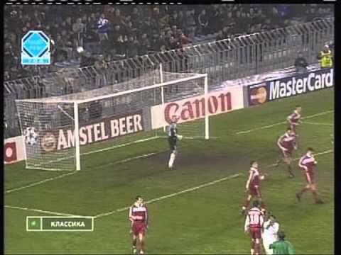 1999 November 3 Sparta Prague Czech Republic 5 Spartak Moscow Russia 2 Champions League
