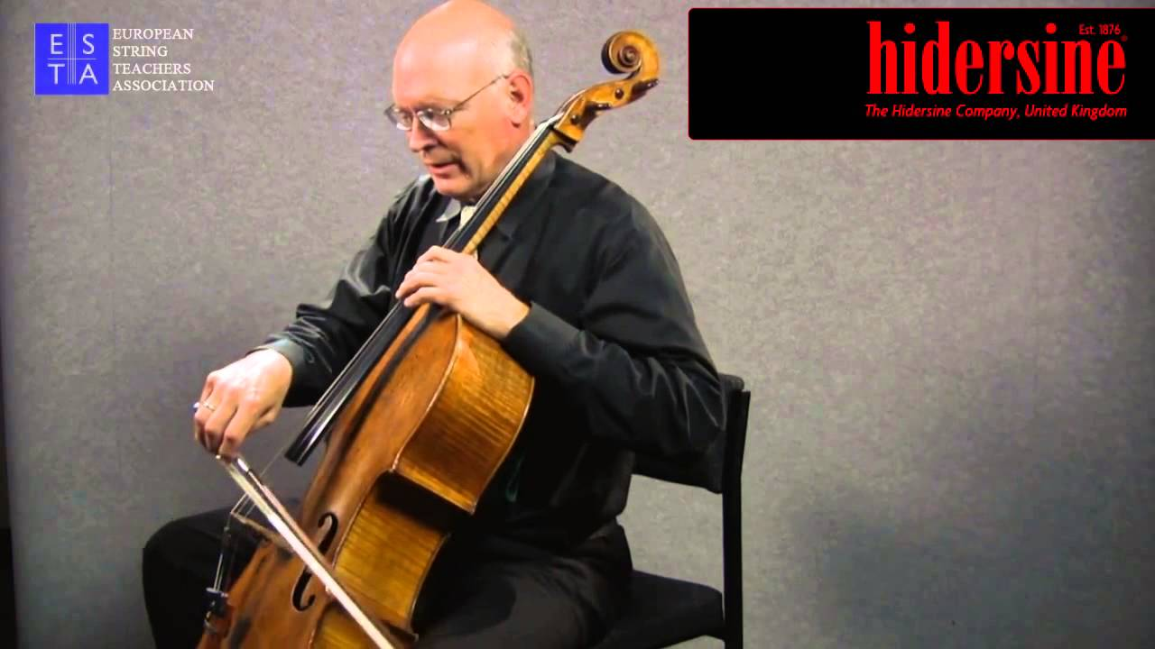 Cello Technique Point of Contact - YouTube