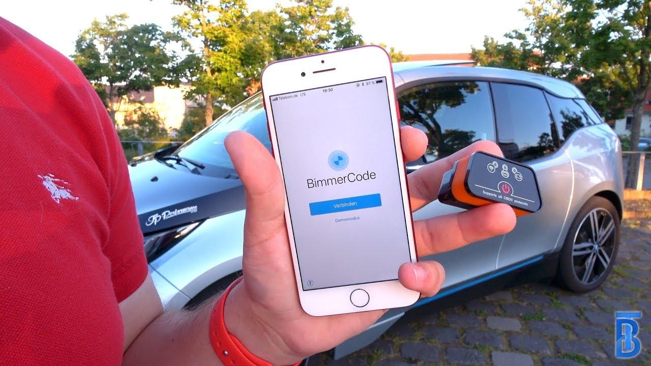 BMW i3 Codieren mit BimmerCode - TouchBenny [4K]