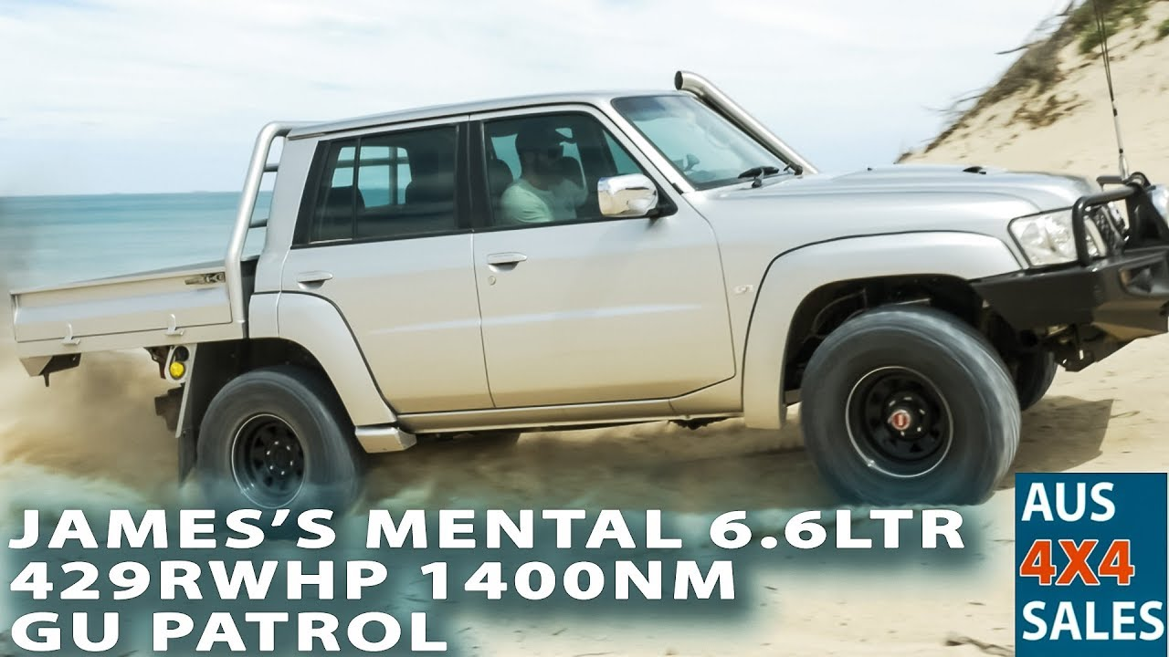 429 RWHP 6 6 LTR Duramax 1380NM Nissan Patrol GU 2005 -Garrett Turbo