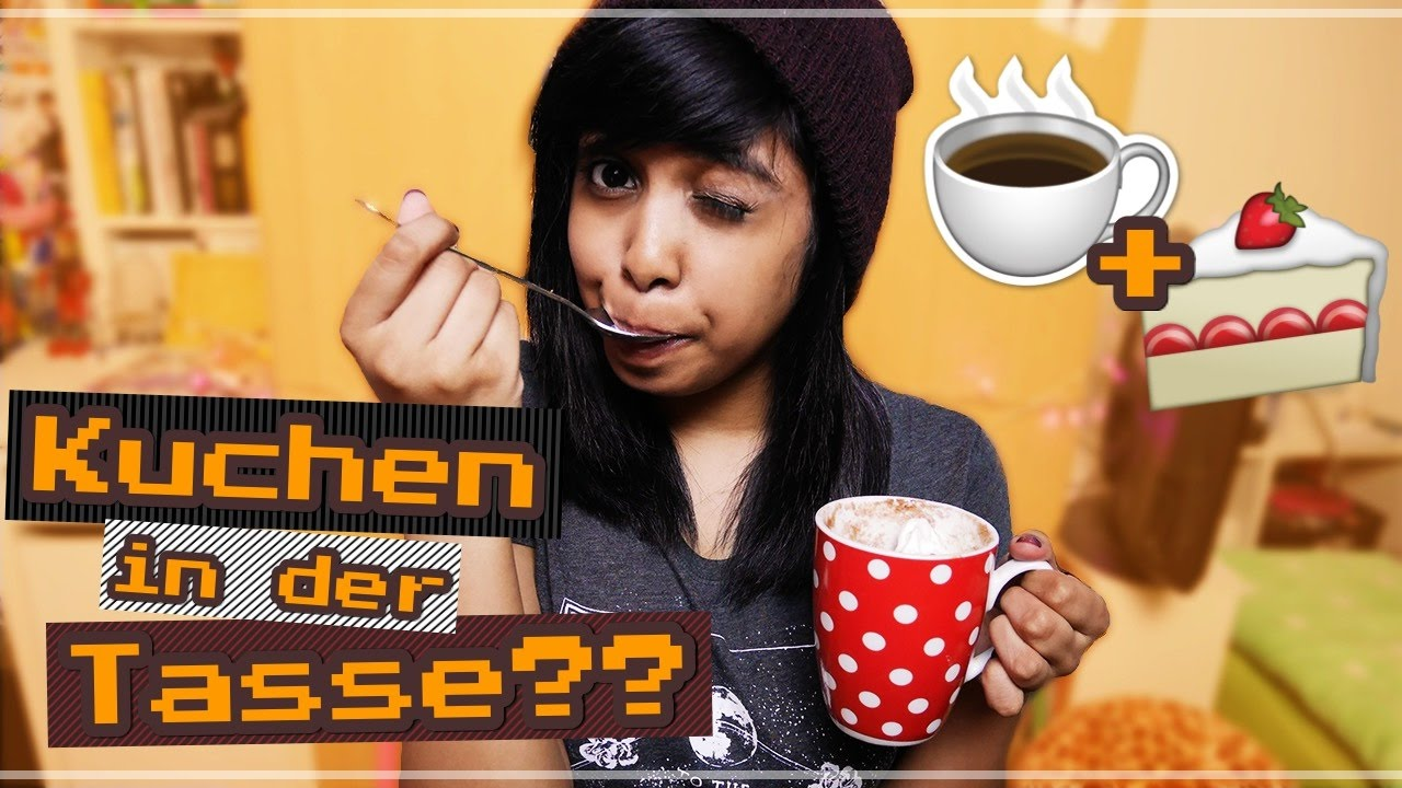 Tassenkuchen In 3min Ohne Ei Fur Noobs Minicafekko Youtube