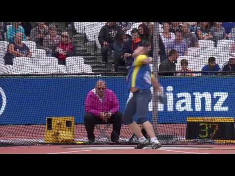 Dmytro Ibragimov | Bronze Men's Discus F46 | Final | London 2017 World Para Athletics Championships