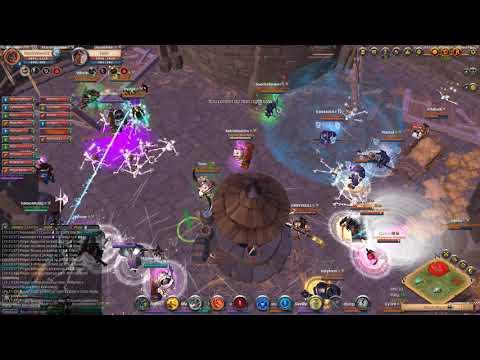 SQUAD [203] Vs [235] OOPS Alliance - Castle Siege ZvZ - Albion Online 2019